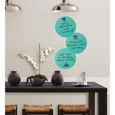 WallPops Calypso Dry Erase Dot Decal- Set of 6