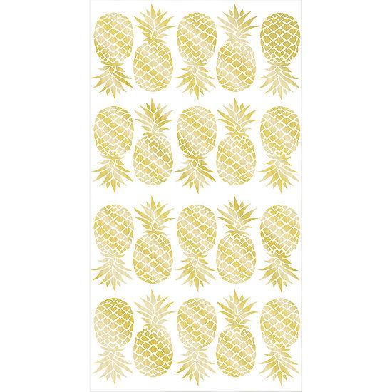 Wallpops Pineapple Wall Art Set Of 2