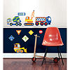 WallPops Construction Zone Applique Wall Art Kit