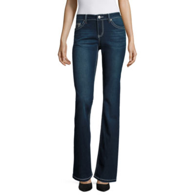 Love Indigo Wing-Back Flap-Pocket Jeans