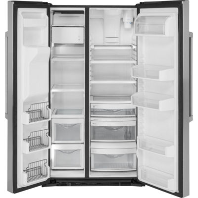 GE Cafe Series 21.9 cu. ft. Counter-Depth Side-By-Side Refrigerator