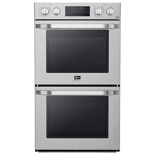 """LG 30"""" Double Wall Oven with True Convection System"""