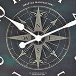 FirsTime® Compass Rose Clock
