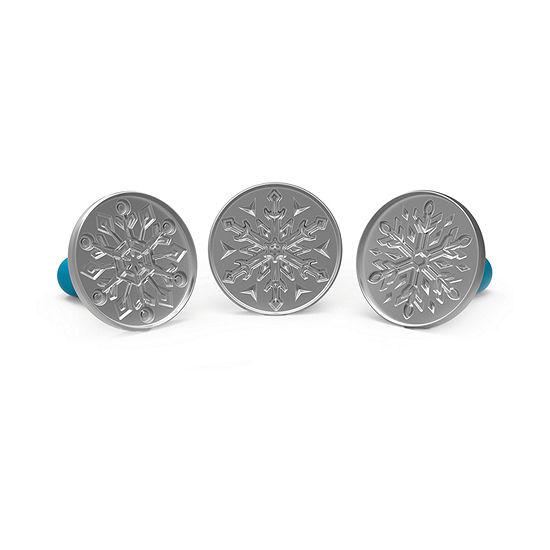 Disney Frozen 2 Snowflake Cookie Stamps
