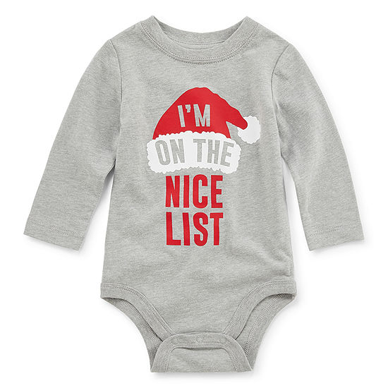 North Pole Trading Co. Unisex Bodysuit-Baby