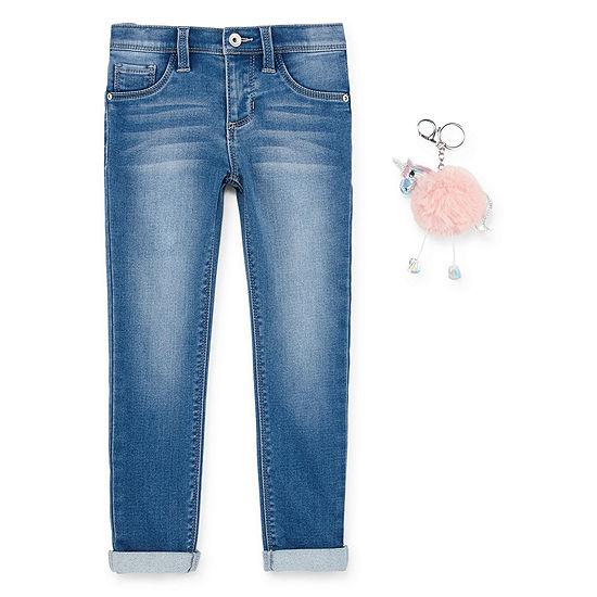 Blue Spice Skinny Fit Jean Preschool Girls