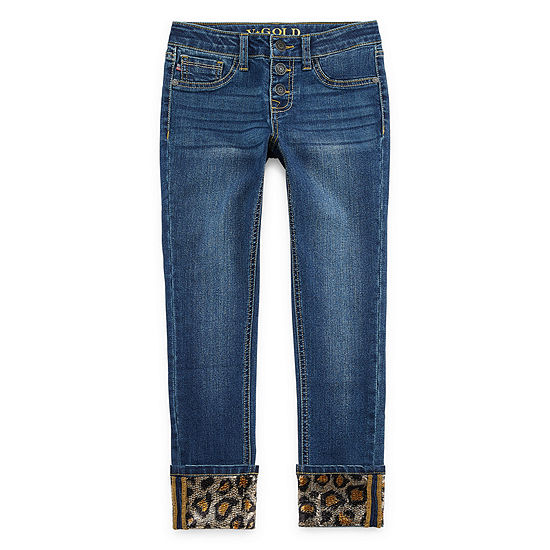 Vgold Girls Skinny Fit Jean Preschool / Big Kid