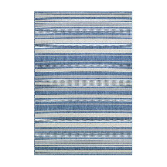 Couristan Gazebo Stripe Rectangular Indoor/Outdoor Rugs