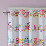 Mi Zone Kids Noctural Novelty Energy Saving Blackout Grommet-Top Single Curtain Panel