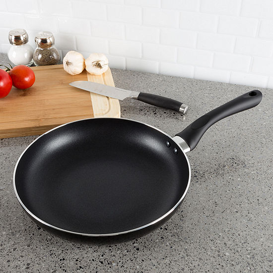 Classic Cuisine 10 In. Non Stick Frying Pan With Induction Bottom Aluminum Frying Pan