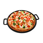 Home Complete 14 In. Pizza Pan Cast Iron Skillet