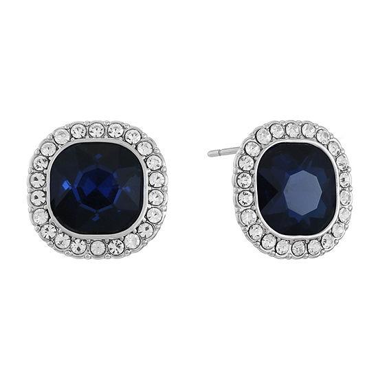 Monet Jewelry Blue 13mm Stud Earrings