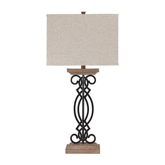 Signature Design by Ashley Edalene Metal Table Lamp