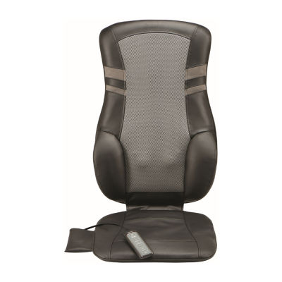 Brookstone Cordless Shiatsu Massaging Seat Topper