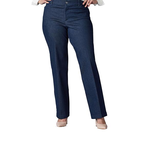 Lee Womens Wide Leg Trouser-Plus