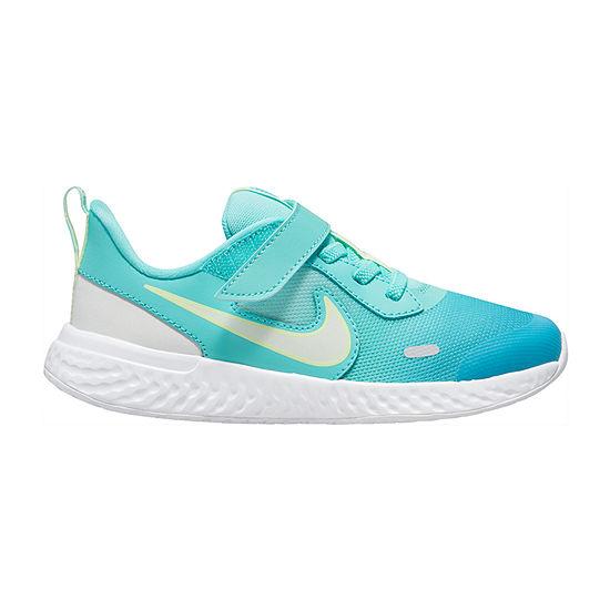 Nike Revolution 5 D2n Little Kids Girls Running Shoes