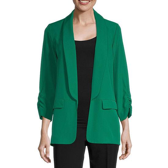 Worthington Womens Soft Unlined Jacket - Tall