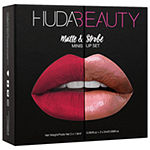 HUDA BEAUTY Matte & Strobe Lip Set
