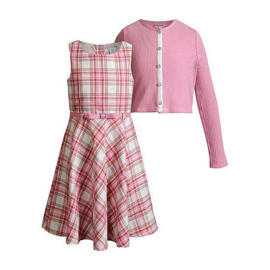 Emily West Little Girls Sleeveless 2-pc. Dress Set