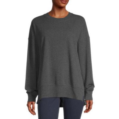 Arizona Juniors Womens Crew Neck Long Sleeve Sweatshirt