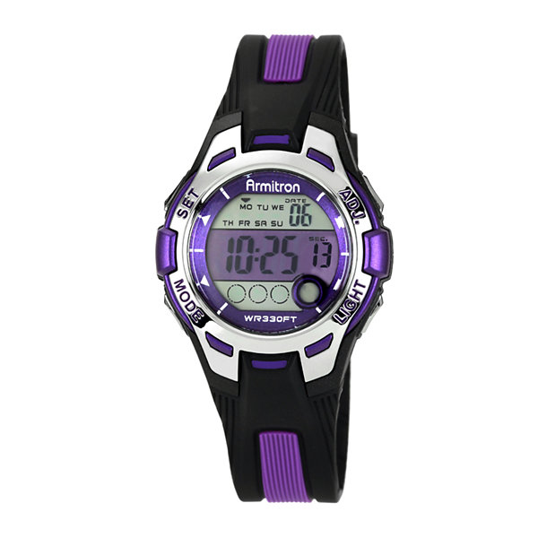 Armitron Womens Purple Strap Watch-45/7030pur