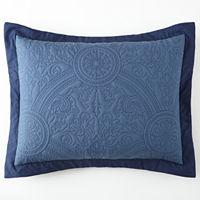 Bensonhurst Pillow Sham, One Size , White