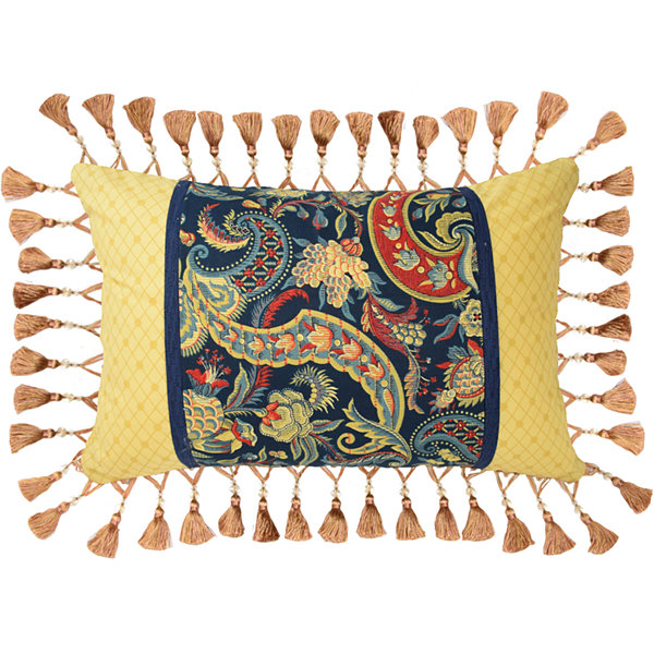 Waverly® Rhapsody Reversible Oblong Decorative Pillow