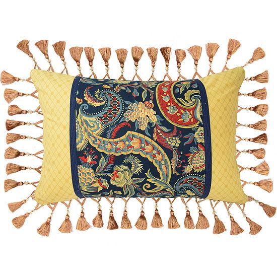 Waverly® Rhapsody Reversible Oblong Decorative Pillow