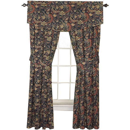 Waverly Rod-Pocket Set of 2 Curtain Panel