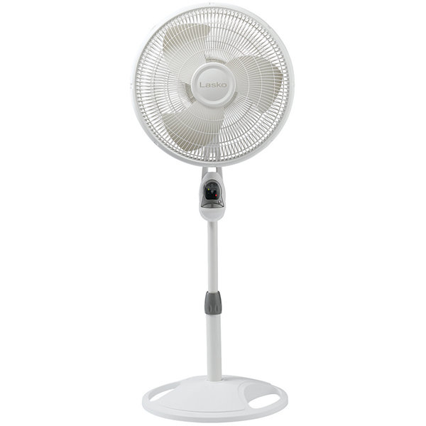 "Lasko® 16"" Oscillating Stand Fan with Remote Control"