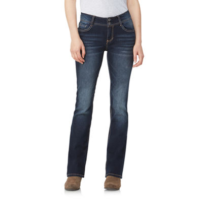 Wallflower Curvy Fit Bootcut Jeans-Juniors
