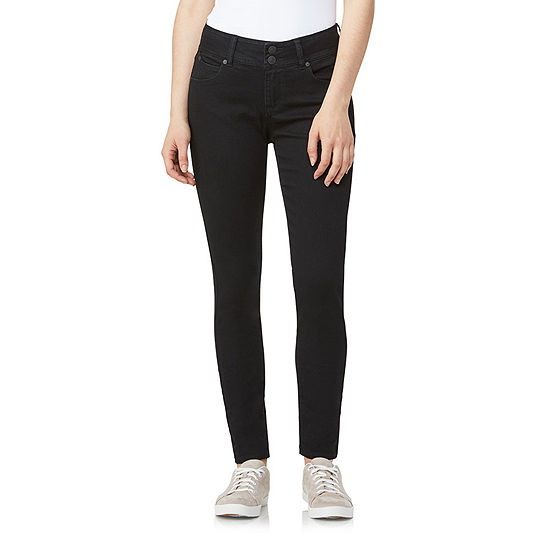 Wallflower Womens Mid Rise Skinny Fit Jean - Juniors