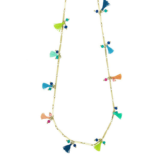a.n.a 30 Inch Curb Beaded Necklace