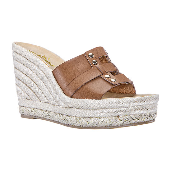 Daybreaks Powered By Nina Womens Electra Wedge Sandals