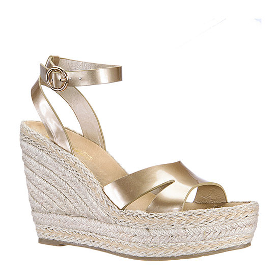 Daybreaks Powered By Nina Womens Estelle Wedge Sandals