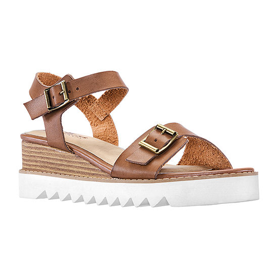 Daybreaks Powered By Nina Womens Happy Wedge Sandals