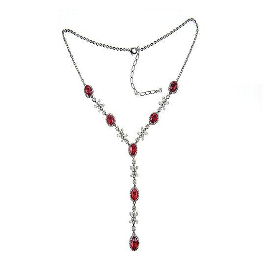 Vieste Rosa Red 18 Inch Y Necklace