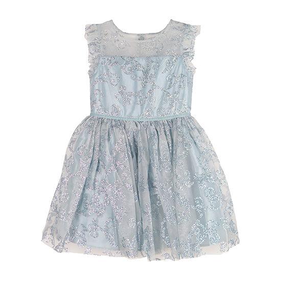 Lilt Big Girls Sleeveless Party Dress