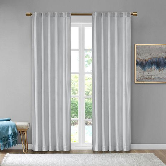 510 Design Garett Light-Filtering Back-Tab Set of 2 Curtain Panel