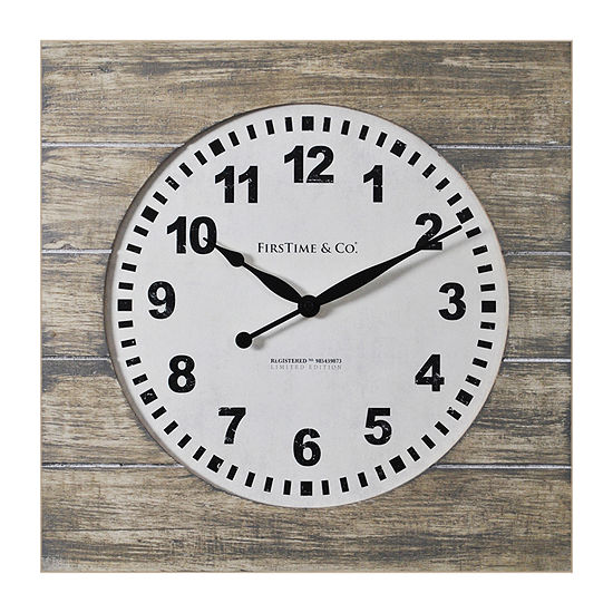Firstime Jackson Square Wall Clock