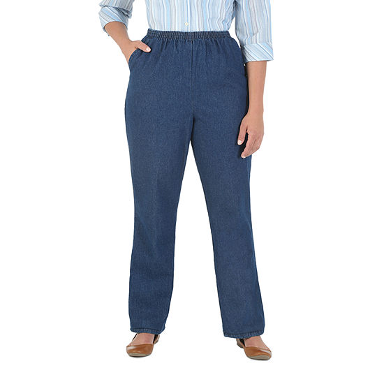 Chic Scooter Denim Pull-On Pant