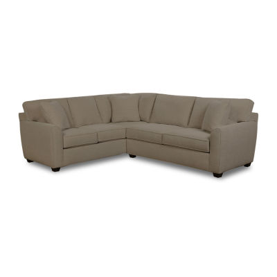 Fabric Possibilities Shark Fin 2-Pc Right Arm Sofa Sectional