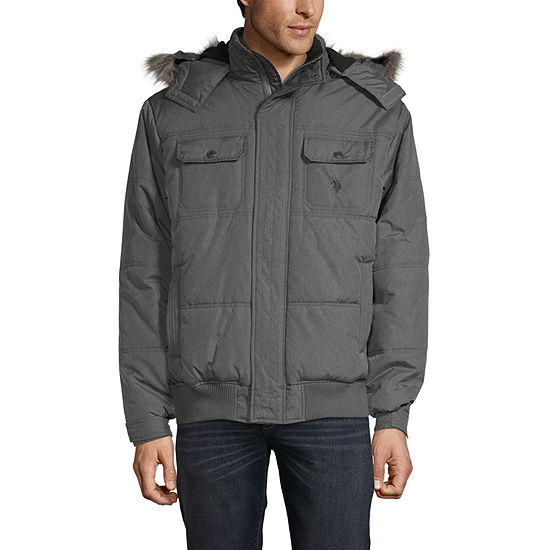 Us Polo Assn. Microfiber Midweight Quilted Jacket