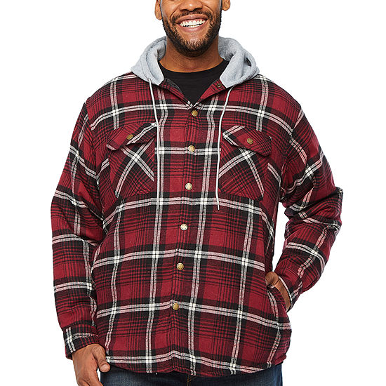 Victory Flannel Midweight Shirt Jacket - Big