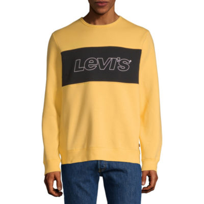 Levi's Men's Long Sleeve Fleece Sweatshirt
