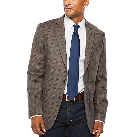 Stafford Seasonal Mens Classic Fit Sport Coat