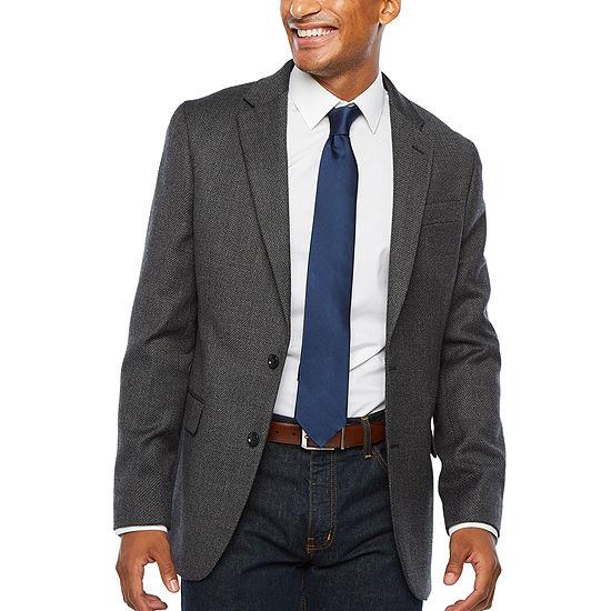Stafford Seasonal Mens Slim Fit Sport Coat - Slim