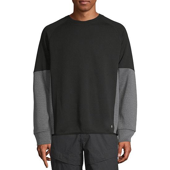Xersion Mens Crew Neck Long Sleeve Sweatshirt