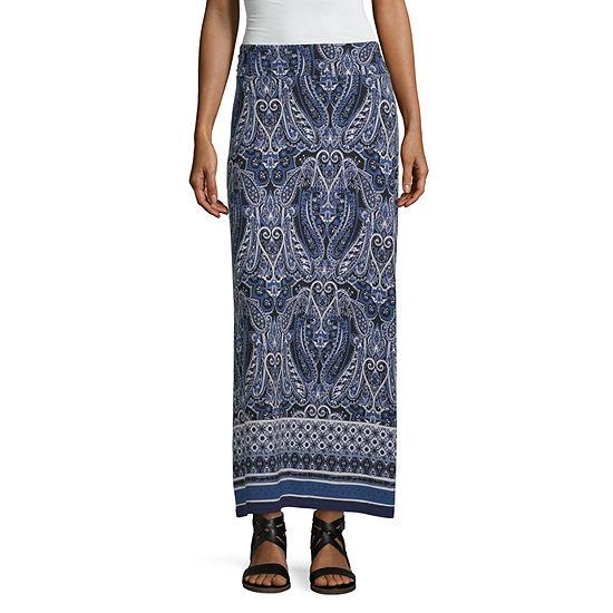 Liz Claiborne Womens Maxi Skirt
