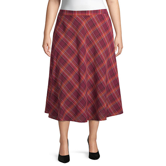 a.n.a Womens Midi Pencil Skirt-Plus